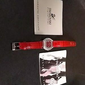 Swarovski Crystal Time watch